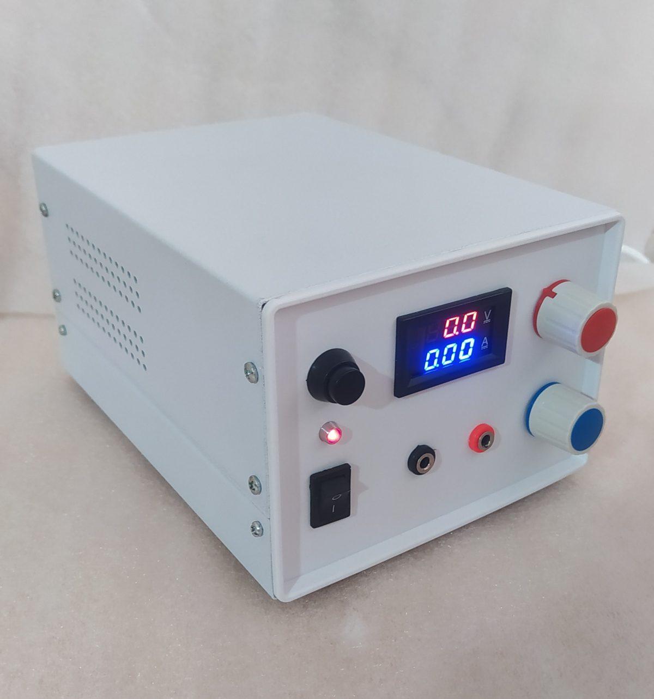 منبع تغذیه متغیر صفر تا 24 ولت 5 امپر دائم کار